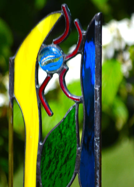 Stained Glass Garden Decor