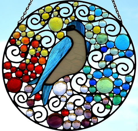Contemporary Stained Glass Art Windsong Studio