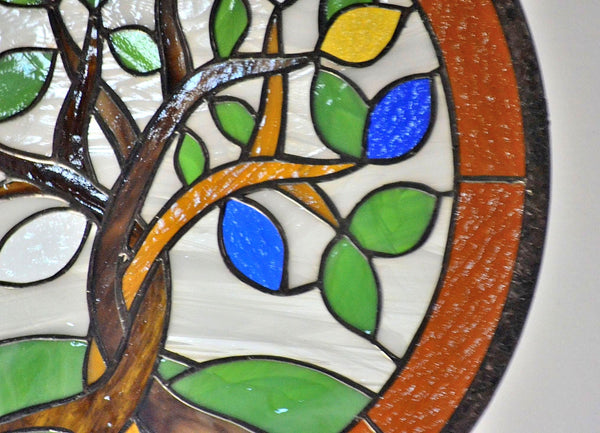 Custom Stained Glass Hanging Art