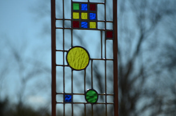 Custom Stained Glass Art by windsong glass studio