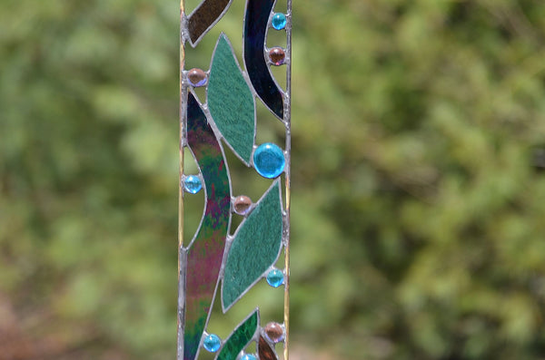 Stained Glass Garden Ornaments