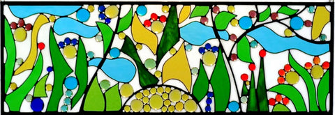 Hanging Stained Glass Window Art