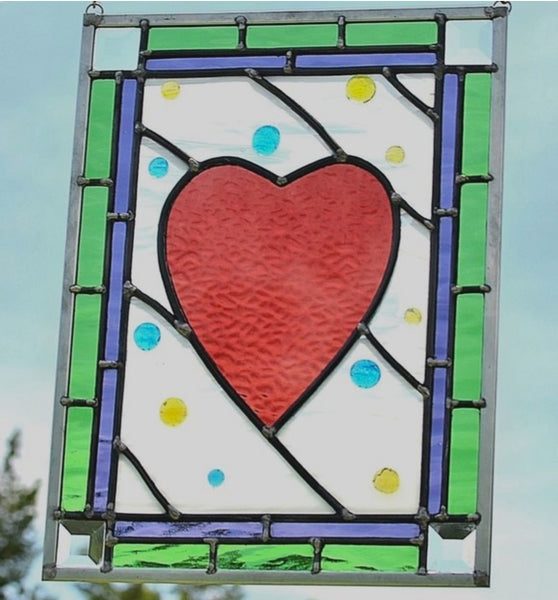 stained glass window for girls