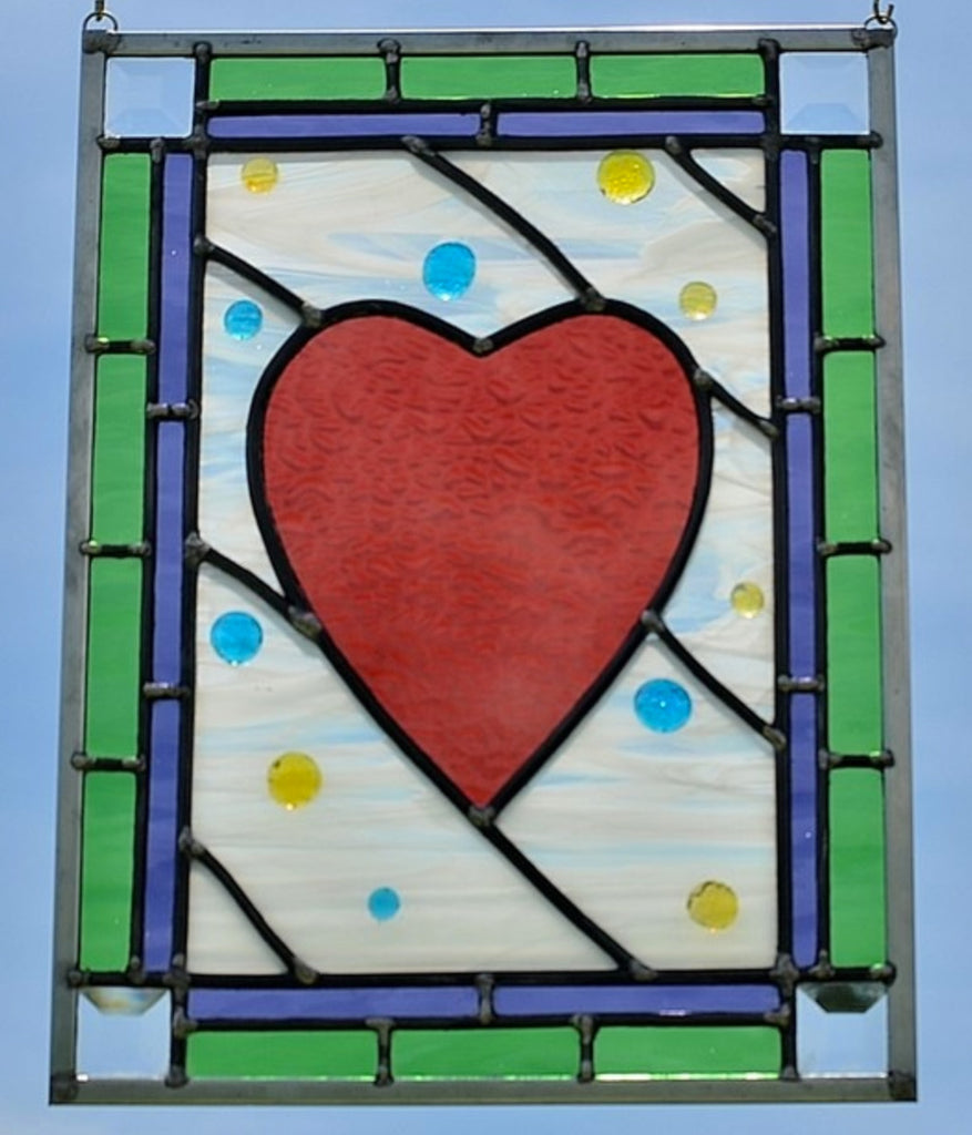 Stained Glass Window Design - perfect for Girls