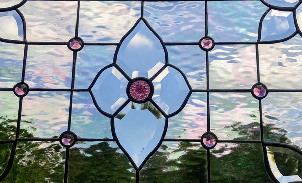 medium stained glass windows by Windsong Glass Studio