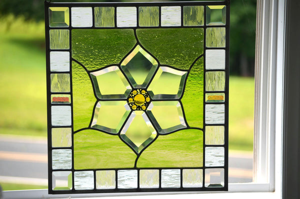Stained Glass Panel by windsong glass studio