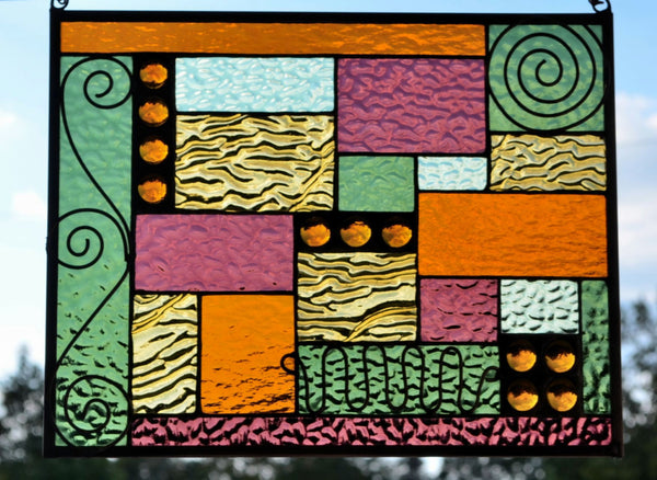 windsong glass studio Stained Glass Window Design