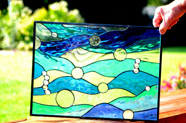windsong glass studio Stained Glass windows