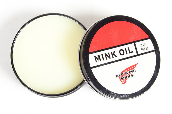 Red Wing Mink Oil Care Product American Classics London