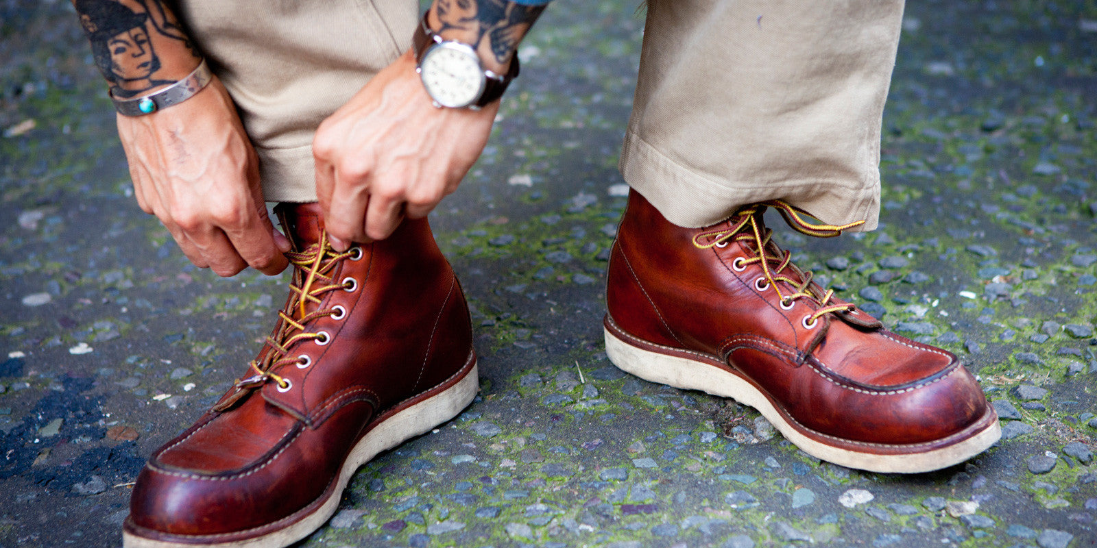 Red Wing Classic Moc Toe Boots 8131