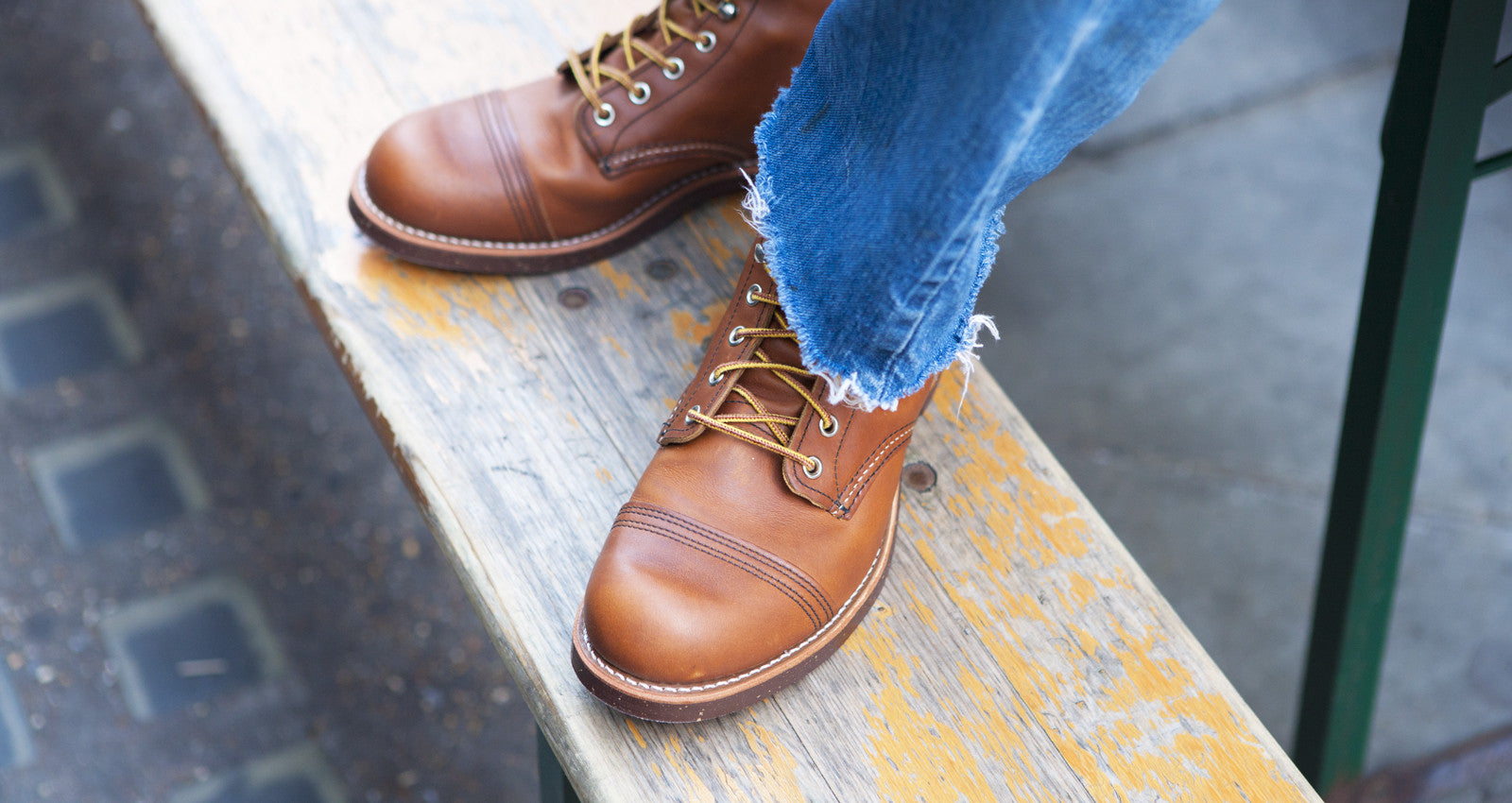 Red Wing Iron Ranger Boots 8112