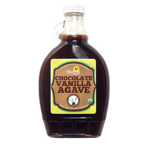 Chocolate Vanilla Agave Nectar - 12 oz