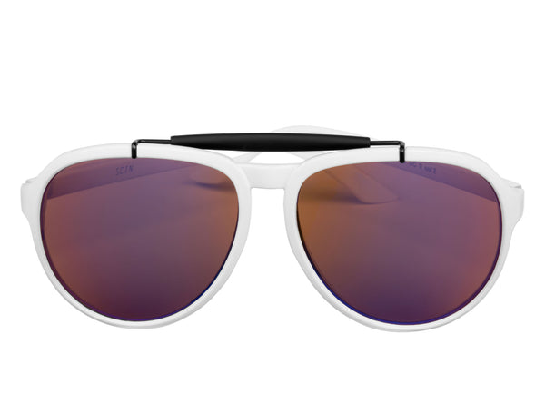 scin rebar sunglasses: white