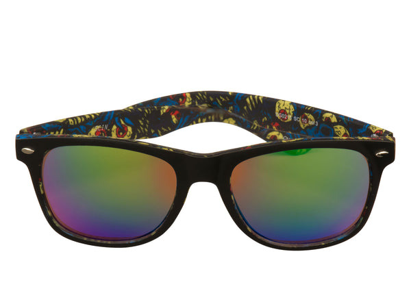 scin watcher sunglasses: black