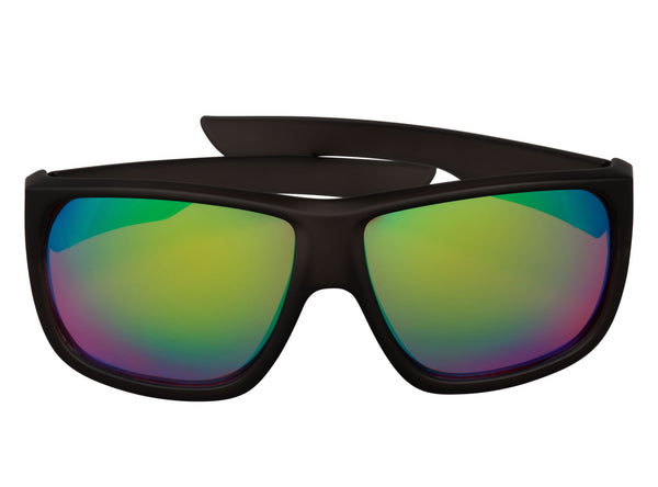 scin george polarized sunglasses: matte black