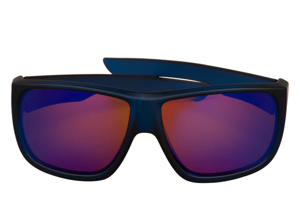 scin george polarized sunglasses: dark blue