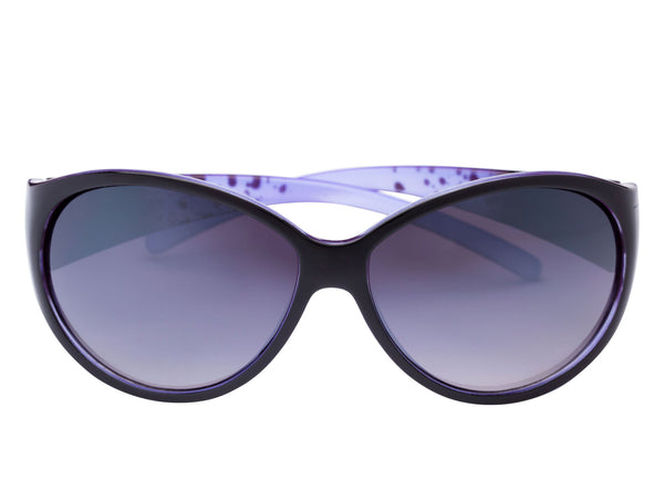 scin dudette womens sunglasses: purple