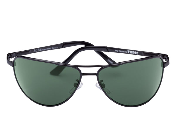 scin toric sunglasses: black