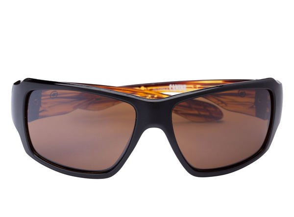 scin canine polarized sunglasses: black