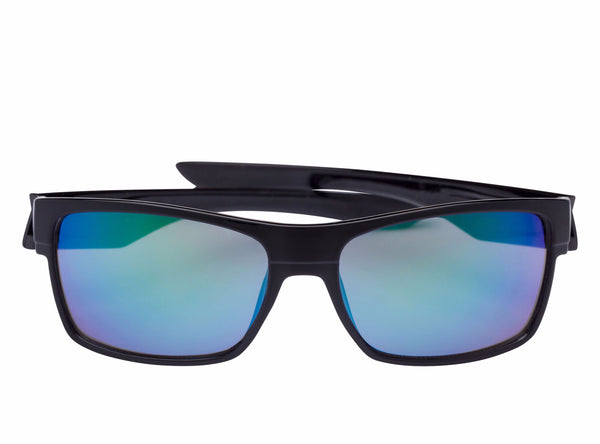 scin bromance polarized sunglasses: black
