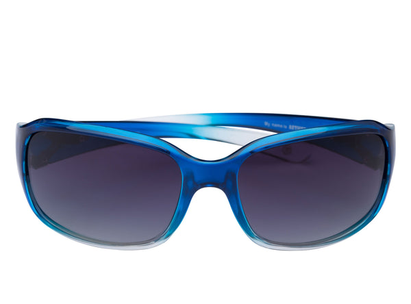 scin aether polarized sunglasses: blue