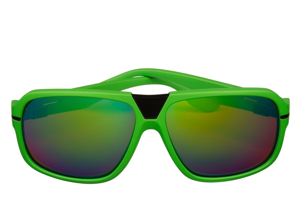 scin owl polarized sunglasses: green