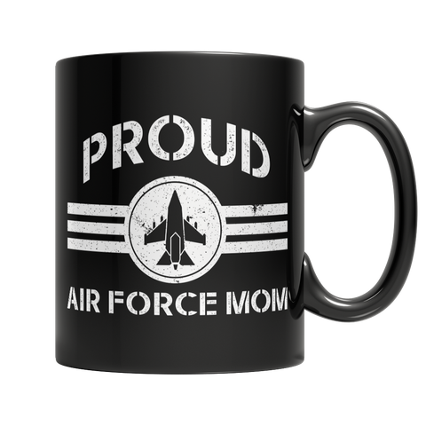 Limited Edition - Proud Air Force Mom Mug