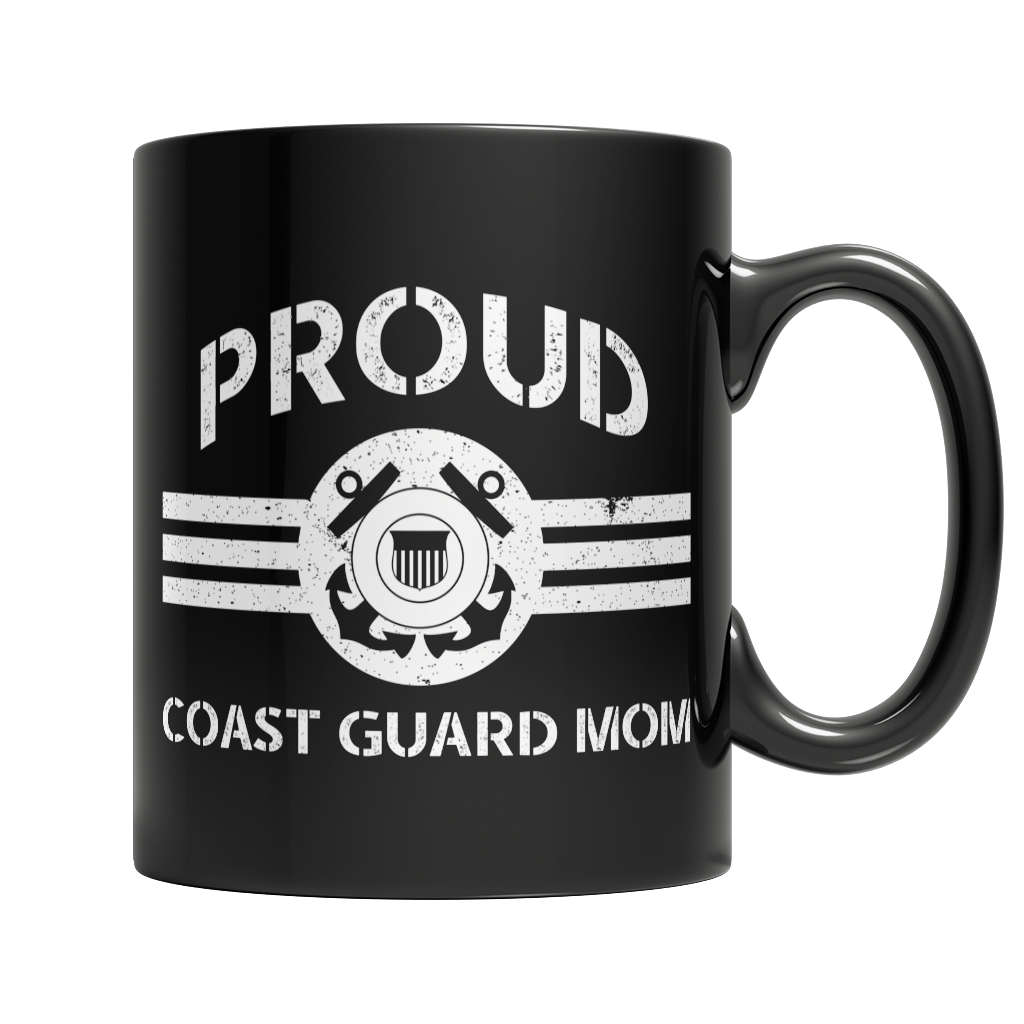 Limited Edition - Proud Coast Guard Mom Mug