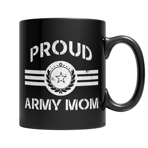Limited Edition - Proud Army Mom Mug