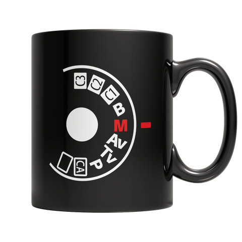 Limited Edition - Manual Camera Setting Mug