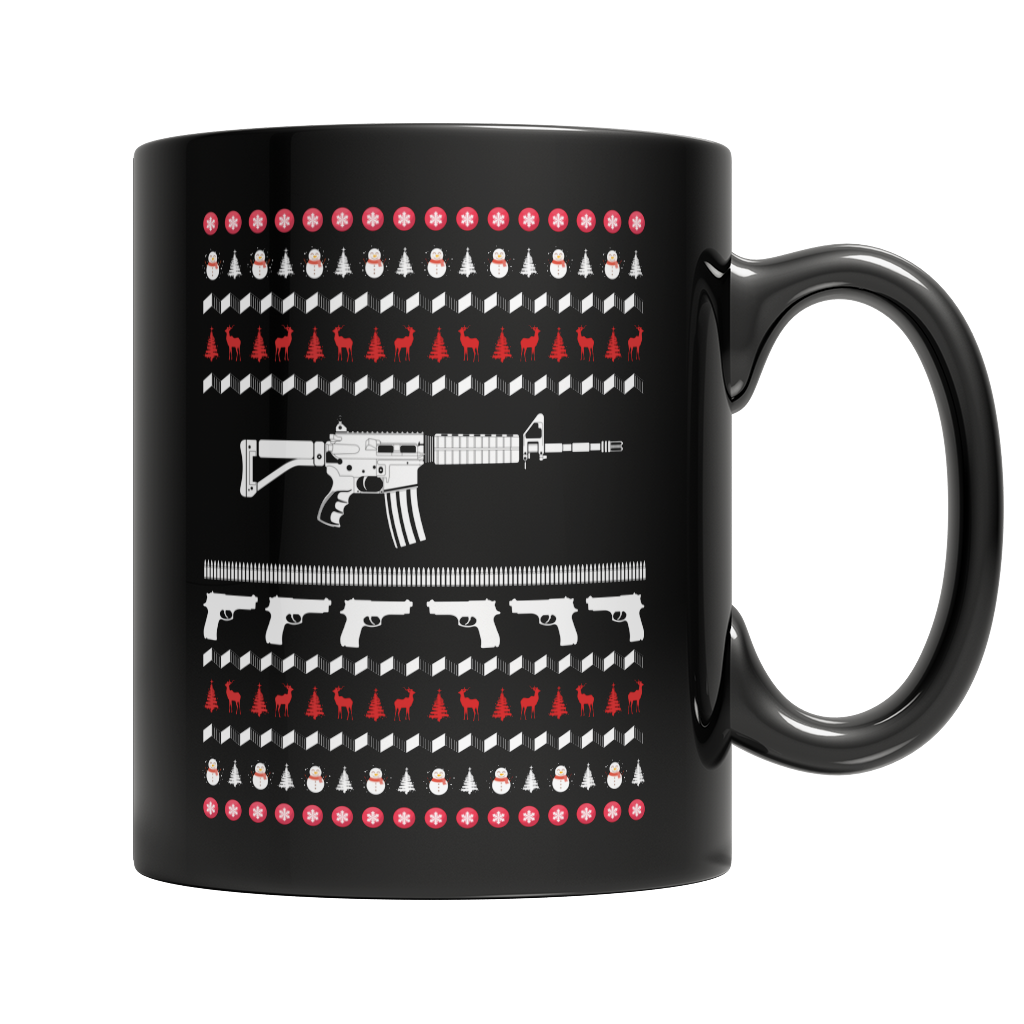 Limited Edition - Gun Christmas Mug