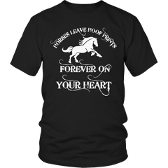 Horses Leave Hoof Prints Shirt