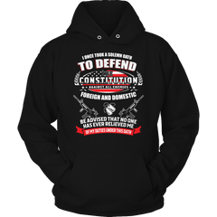 Limited Edition - To Defend The Constitution