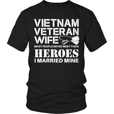 Limited Edition - Vietnam Veterans Wife