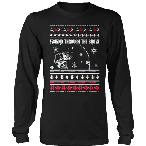 Limited Edition - Fishing Christmas Unisex Long Sleeve Shirt