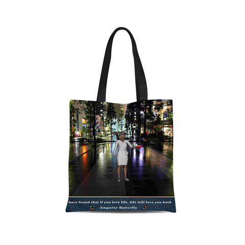 Emperor Butterfly Canvas Tote Bag