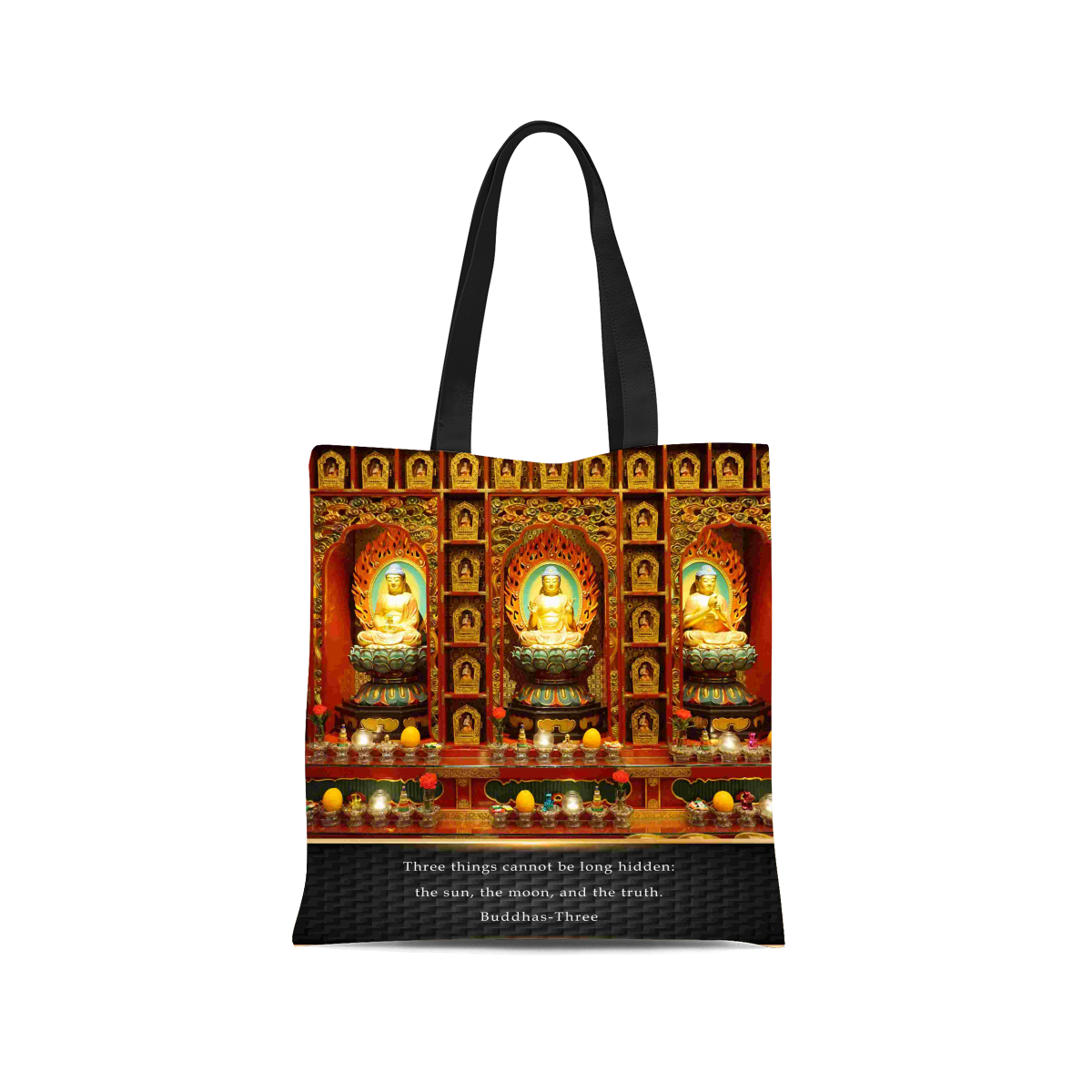 Buddha Canvas Tote Bag