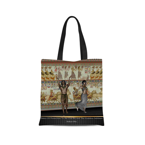 Ancient Egyptian Dance Canvas Tote Bag