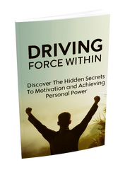 Driving Force Within Ebook, Audio Video Course