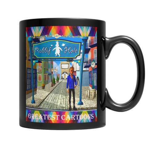 Greatest Cartoons Dark Mug