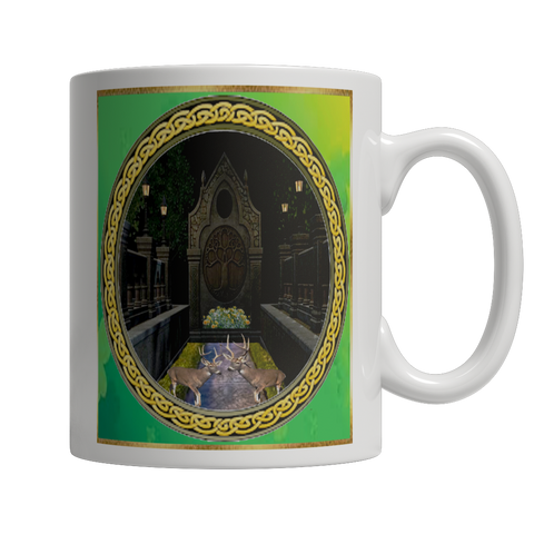 Tree of Life White Mug