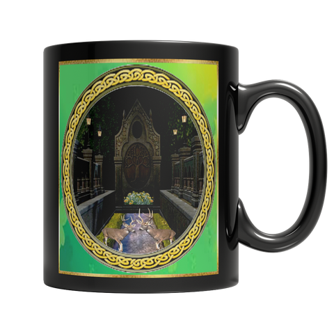 Tree Of Life Dark Mug
