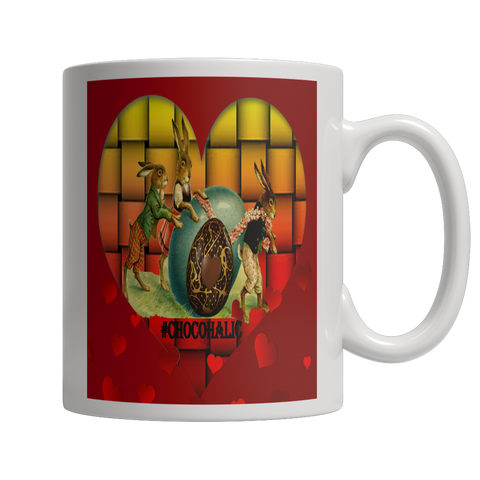 Easter Valentines Moms Day Rabbit Mug