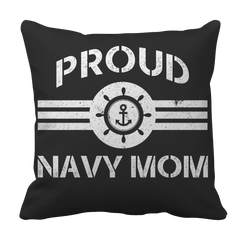 Limited Edition - Proud Navy Mom Pillow Case