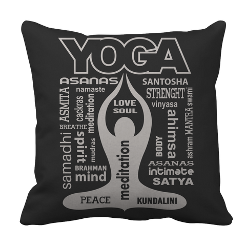 Limited Edition - Yoga Is My Life Pillow Case