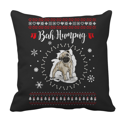 Limited Edition - Bah Humpug Pillow Case