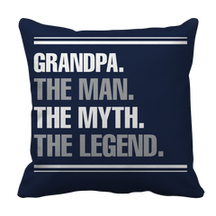 Limited Edition - Grandpa the Man the Myth the Legend Pillow Case