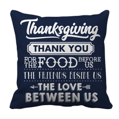 Limited Edition - Thanksgiving Thank You Pillow Case