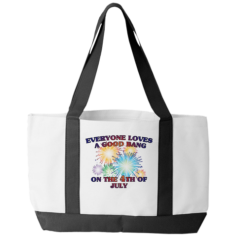 Limited Edition - Everyone Loves A Good Bang On The 4th of July Tote Bag