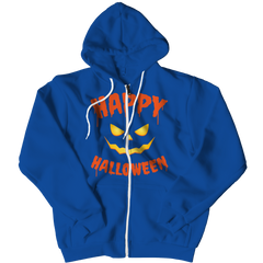 Limited Edition - Happy Halloween Zipper Hoodie